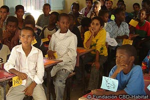 School programme in Mauritania